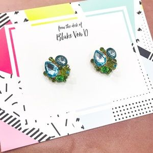 Stud Gem Earrings